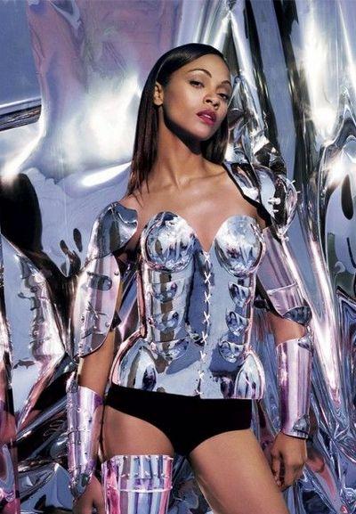 Zoe Saldana  Turbo Blanco Art  Fashion-5939