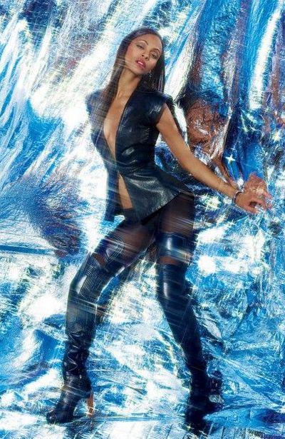 Zoe Saldana  Turbo Blanco Art  Fashion-2931